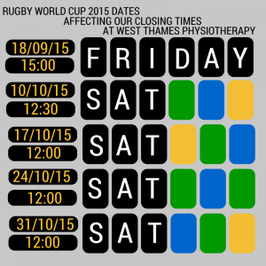 CLOSING TIMES IN SEPT  OCTOBER 2015 RUGBY